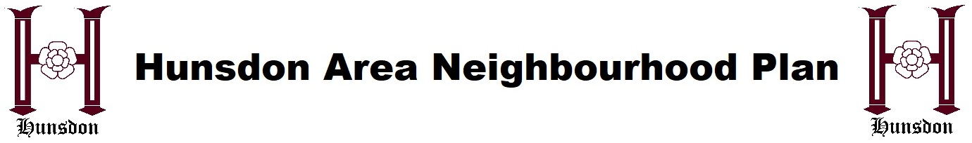 Hunsdon Area Neighbourhood Plan header